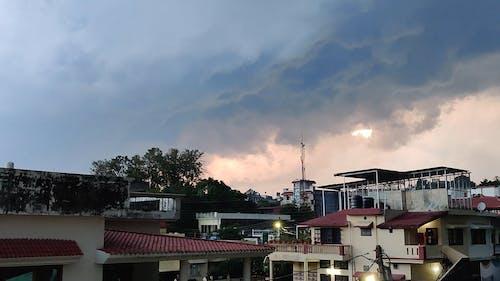 A Footage of the Gloomy Sky