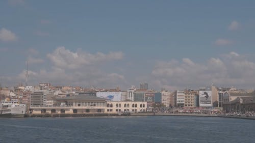 A Government Building By The Sea Bay In Turkey