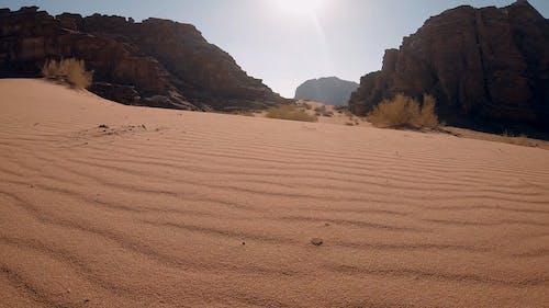 The Red Sand Of Wadi Rum Desert In Jordan