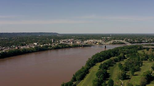 Drone Footage Of Urban Developments In The Riverside