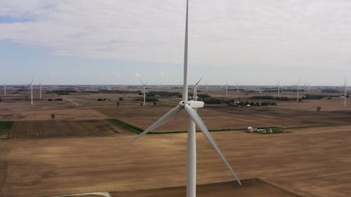 Windmill Farm Used For Clean Energy Production