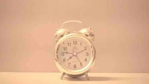Close-Up Shot of an Alarm Clock