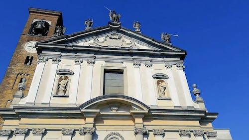 A Shot of a Church Building