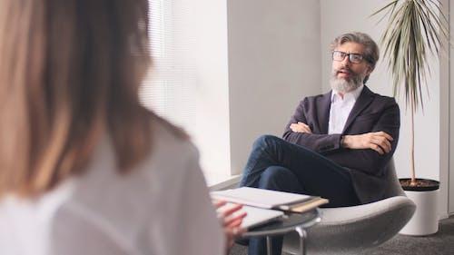 Man Conducting A Job Interview