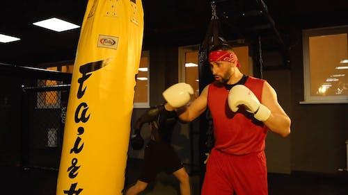 Men Doing Boxing