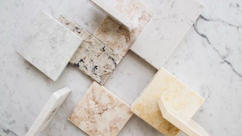 Flatlay Video of Ceramic Tiles