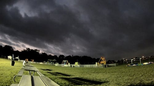 Time Lapse Footage of Dark Clouds