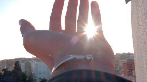 Close Up Shot of a Hand