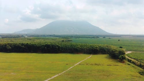 Aerial Footage of a Mountain Area