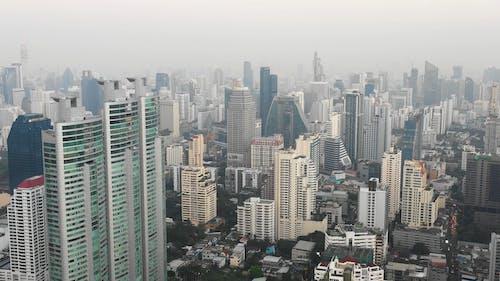 Drone Footage of Buildings