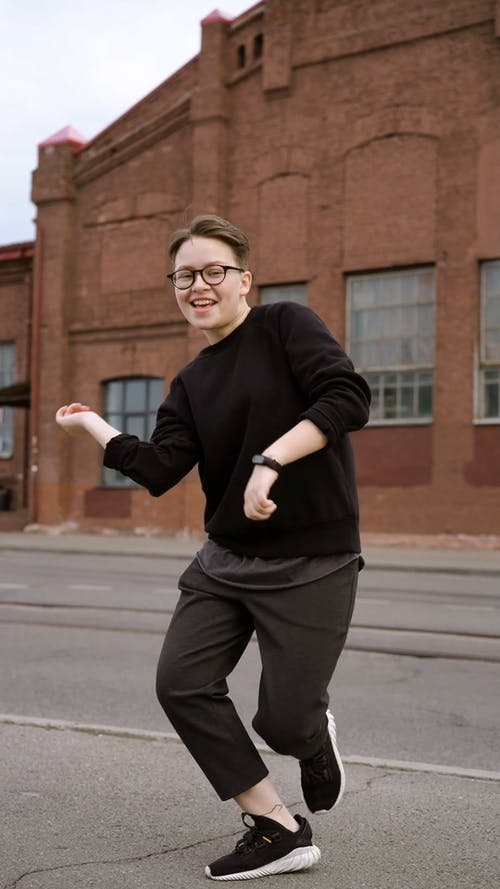 Person Dancing in the Street
