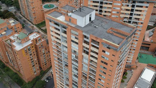An Aerial Footage of a Building