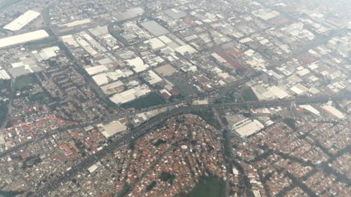 An Aerial Footage of Mexico City
