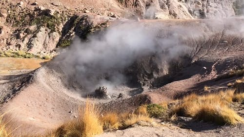 Boiling Mud of a Mud Volcano
