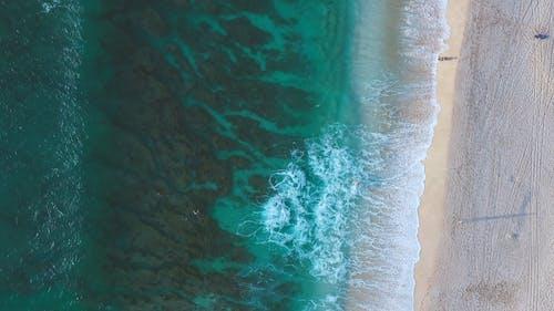 Waves Rushing To Shore