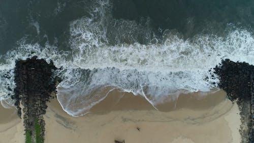 Bird's Eye View Of Seaside During Daytime