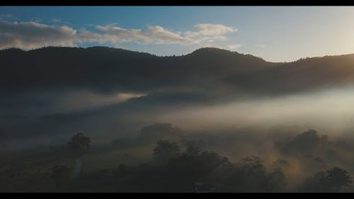 Scenic Video Of Valley During Dawn