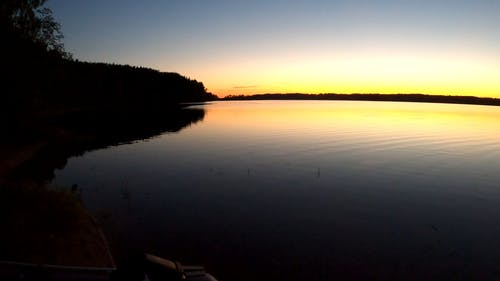Video Of Lake During Dawn