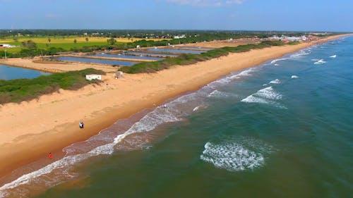 Beach Coastline View