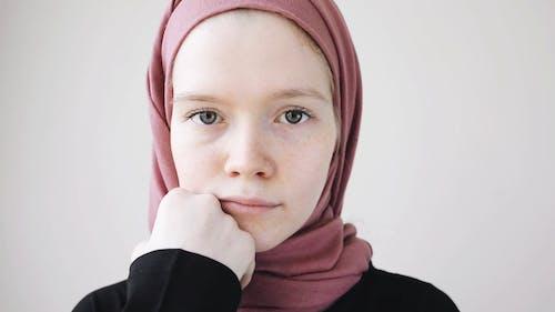 Woman Wearing a Hijab