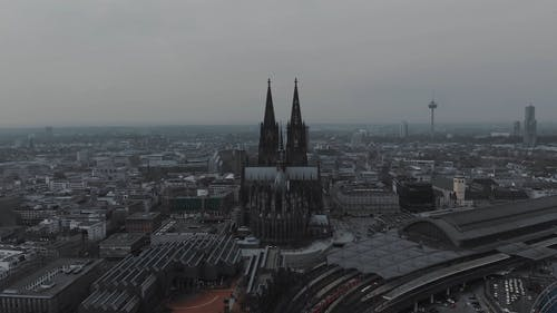 Drone Footage of the Cologne Cathedral in Germany