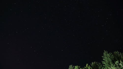 Time-Lapse of the Night Sky