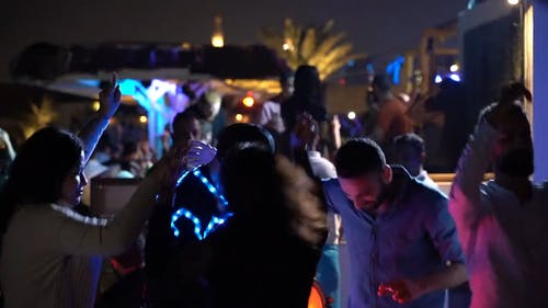 Video Of People Partying In A Club