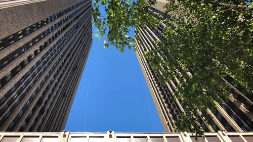 Low Angle View of Tall Buildings