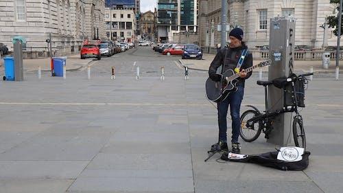 Man Singing Live Outdoors