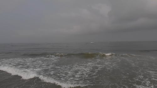 Drone Footage in the Middle of the Sea