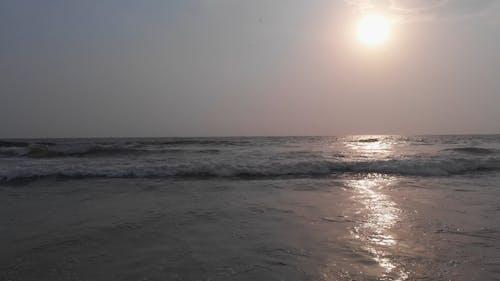 View Of Sunrise Over The Horizon