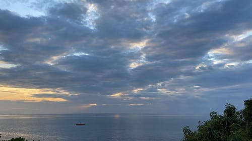 Time-Lapse Video of Sea and Clouds