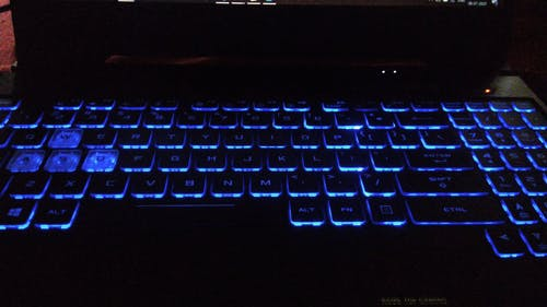 RGB Keyboard Changing in Colors