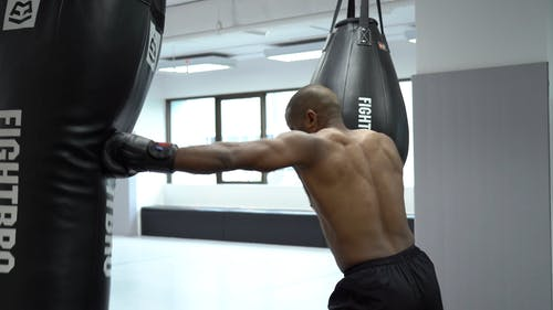 Video Of Man Doing Boxing Exercises