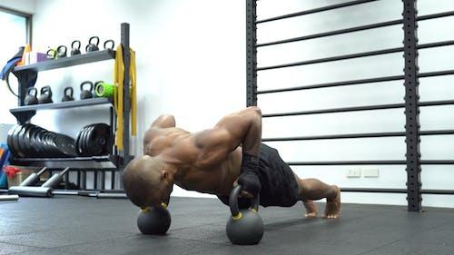 Video Of Man Doing Push-Ups Exercises