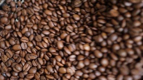 Roasting Coffee Beans Machine