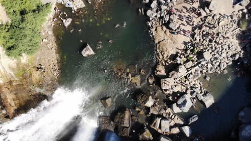 Drone Footage of the Waterfalls
