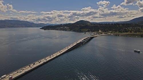 Drone Footage of a Bridge