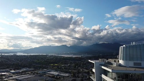 An Aerial Footage of Vancouver