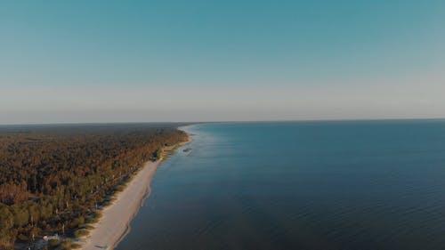 Drone Footage Of The Long Coastline