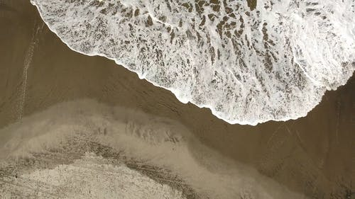 An Aerial Footage of the Beach