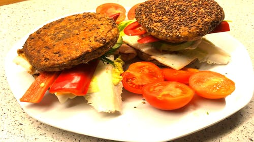 Vegan Meal on Plate