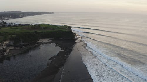 Drone Footage Of The Ocean