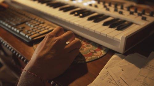 A Man in a Recording Studio