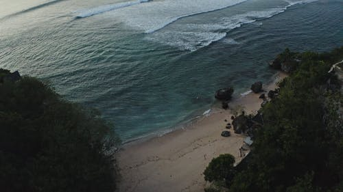 Drone Footage of Beach