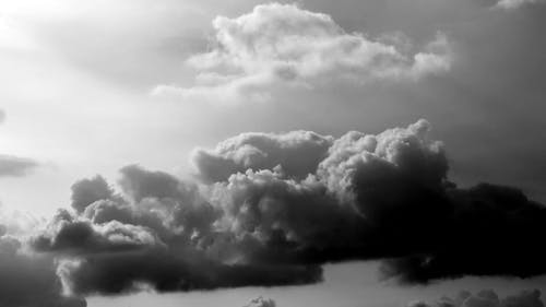 Footage of a Clouds
