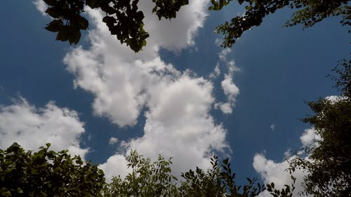Time Lapse Footage of a Clouds