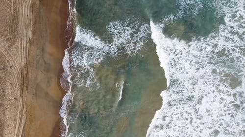 Drone Footage of a Beautiful Beach