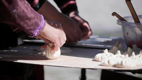 Dumplings in Making