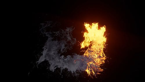 Animated Abstract Burning Effect